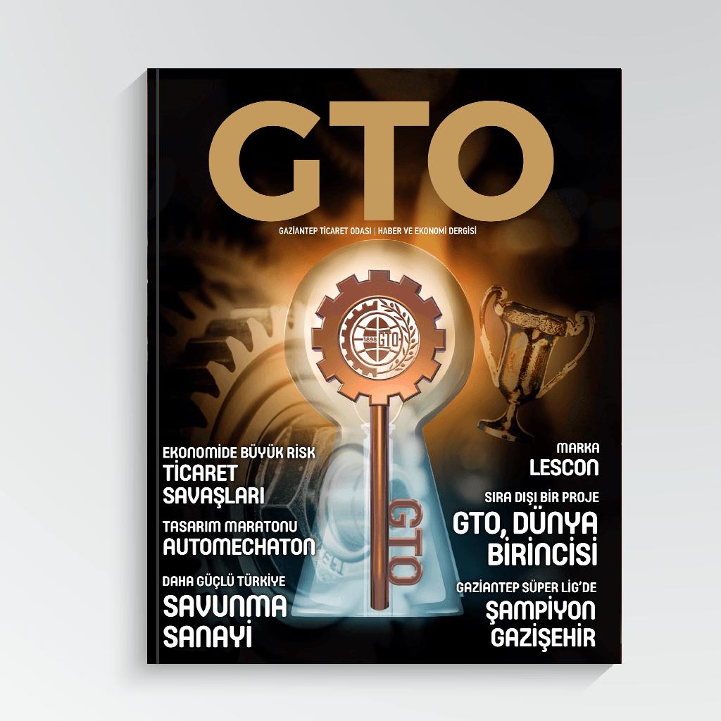 GTO Sayı 3 Kapak Görseli
